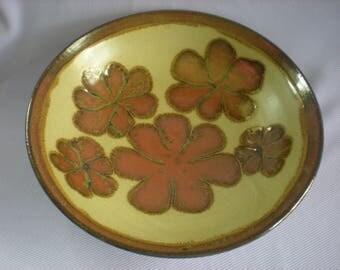 Stoneware Serving Bowl, Extra Large Bowl,Boho Serving Bowl