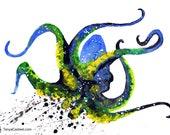 Octopus Spirit Animal Art...