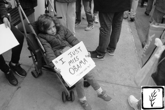 Resist, #shepersisted #womensmarch, #whyImarch, children, B&W Photograph, New York, fine art, photo print, wall art, home decor, protest