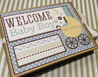 Baby Boy PREMIUM Mini Photo Album