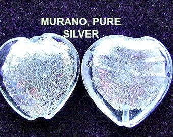 BEAD, PENDANT, MURANO, Glass, Pure silver, Glass, Italian, Focal, Sale,