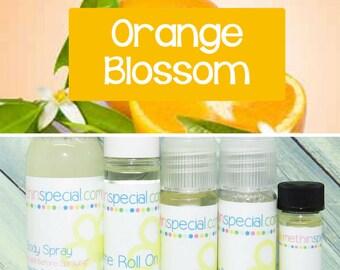 Orange Blossom Perfume, Perfume Spray, Body Spray, Perfume Roll On, Perfume Sample Oil, Dry Oil Spray, You Choose the Product