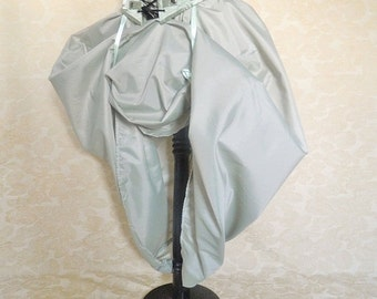 New Year Sale Sage Green Full Length Bustle Skirt-One Size Fits All
