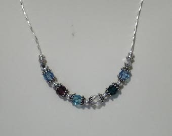 Swarovski Crystal Great Grandmother's Necklace - Pattern