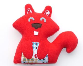 Red Squirrel Plush