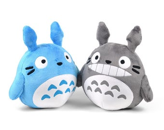 Totoro Plush Chubby Round Ghibli Stuffed Animal