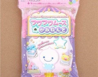 198585 white Fuwa Fuwa mousse clay coloring clay Japan decoden