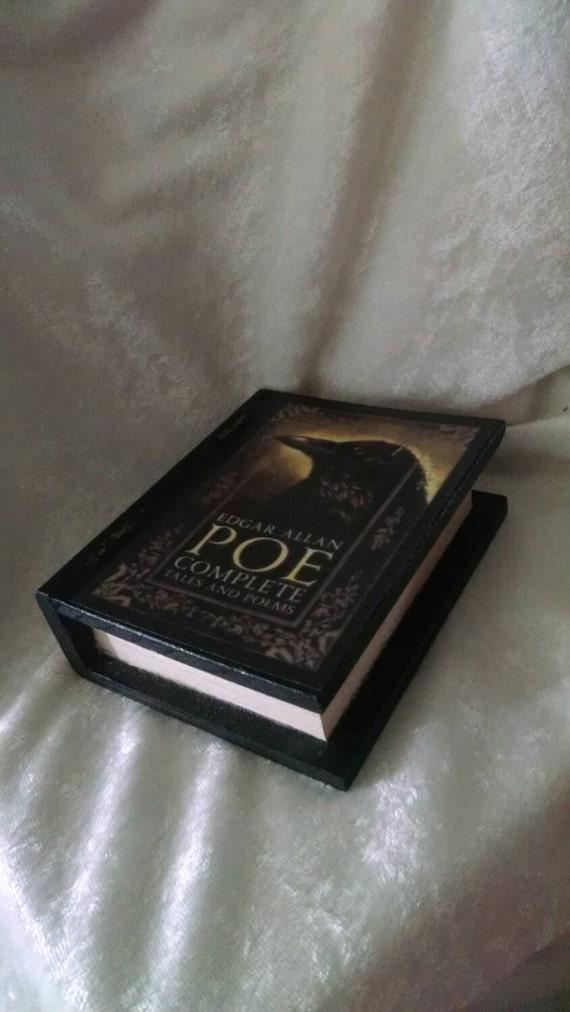 mini edgar allan poe book jewelry box poe engagement ring