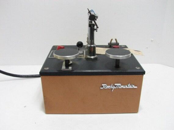 Vintage Rocky Mountain Dental Spot Welder Machine, Dentist Welding USA,  Medical Instrument Industrial