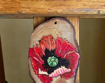 poppy Flower art/poppy/poppies/ornament