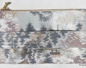 Custom Order for Maria, Japanese Silk Obi Clutches, set of 6