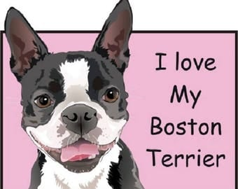 Boston Terrier design, Boston Terrier bodysuit, dog lover gift, baby clothes, shower gift,