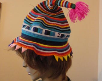 Handmade Ethnic Pointy Hat