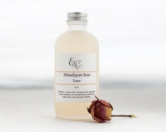 Himalayan RoseToner - Organic Facial Toner| Sensitive Skin Toner| Rosewater