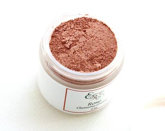 Rose Clay Mask -  Natural Face Mask, Natural Facial Mask, Organic Clay Mask