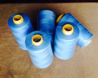 100% Polyester Thread - LIGHT BLUE -