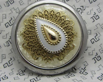Compact Mirror Bridesmaids Gift Comes With Protective Pouch Ellie