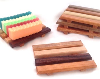 20 reclaimed wood soap dishes - 1.35 each - Handmade in Portland, OR USA