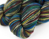 """Strong Sock Self-Striping """"Gynx's Palette"""""""