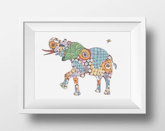 Elephant Print Giclee Print Elephant Art Elephant Wall Art Elephant Decor Elephant Art Print Elephant Home Decor Animal Art Print