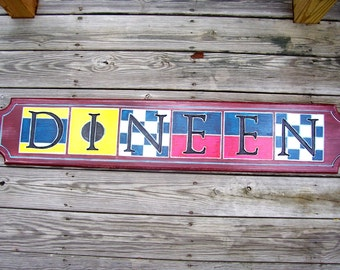 Quarterboard signs ~ Nautical signs ~ Beach House signs ~ Cottage signs ~ Distressed Signs - Vintage signs ~  Sign Reproductions.