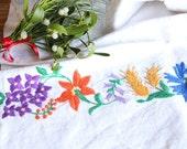 D 86: handloomed linen antique charming TOWEL napkin, LAUNDERED,리넨, decoration; tablerunner