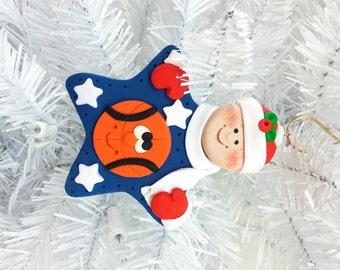 Personalized Ornament - Basketball Christmas Ornament - Team Christmas Ornament - Basketball Player Gift - Basketball Fan Gift - 12714