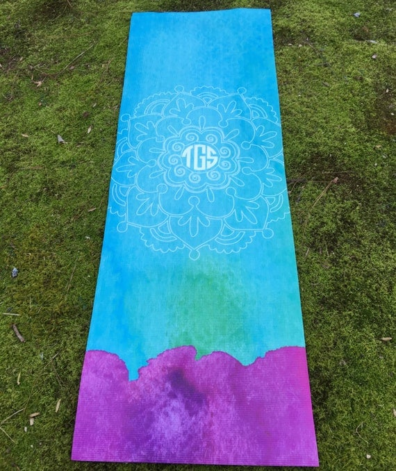 Water Color Yoga Mat 24 X 68 Personalized