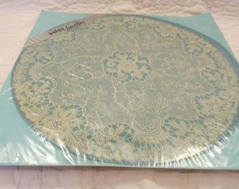 """Vintage Paper Doilies 3 - 12"""" rosepoint Lacettes Packay SALE"""