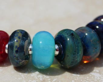 Orphans #2035 Artisan boro beads by JRG