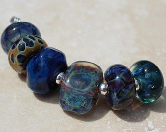 Orphans #2036 Artisan boro beads by JRG