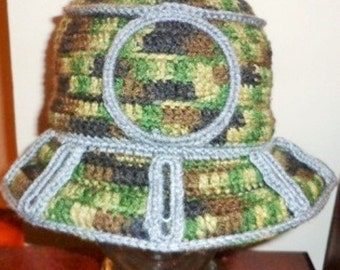 Clipped and Moving Forwards, Crochet Brim Cap