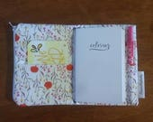 pocket size travelers notebook - ready to ship - traveler's notebook cover