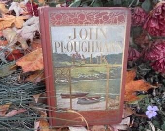 John Ploughman's Talk antiquarian book 1896