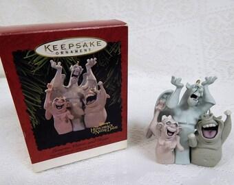 """KeepSake Ornament Disney's """"Hunchback of Notre Dame"""" Laverne, Victor and Hugo"""