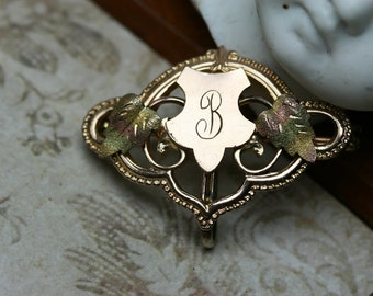 Antique GF Watch Pin - Late Victorian and Edwardian in Design