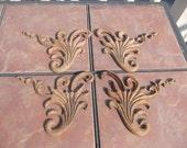 Vintage Oak Carved Decorative Molding for Furniture