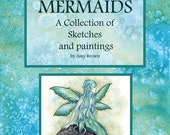 Limited MERMAIDS BOOKLET by Amy Brown signed by artist