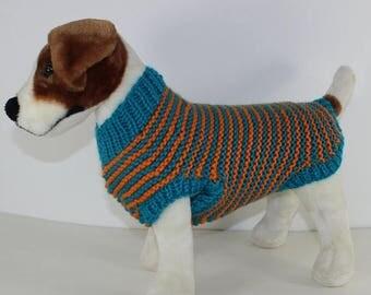 Knitting Pattern Westie Dog : Dog sweater pattern Etsy