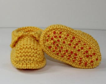 50% OFF SALE Instant Digital File pdf download knitting pattern- Toddler Chunky Slippers knitting pattern by madmonkeyknits