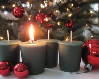 CHRISTMAS PINE (4 votives or 4-oz soy jar candle)