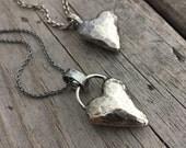 Sterling Silver Heart Pendant Heart Necklace Handmade Jewelry By Joy Kruse Wild Prairie Silver Jewelry
