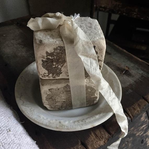 White Ironstone, Farm house, buttery ironston, Paris Apartment , soap Jeanne d'arc living, Antique Soap, Vintage by Nina