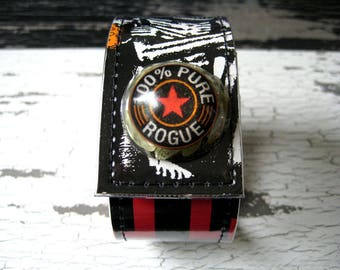 Rogue Dead Guy Ale Wrist Cuff with Hops Snap