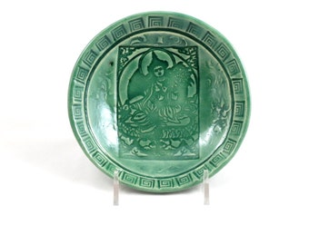 GODDESS Tara Offering  Bowl Handmade  Ceramic Pottery