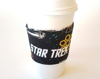 I heart Star Trek Reusable Coffee Sleeve