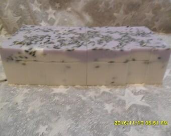 Handmade Bulgarian Lavender Soap Loaf  2 Lbs.+     U Pick Sliced or Block