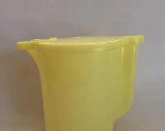 Vintage Yellow Tupperware Pitcher