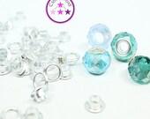SALE 15% Metal Grommet Jewellery Bead Eyelet  (5 mm)