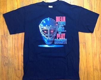 hockey novelty t shirt mean people dont suck  medium